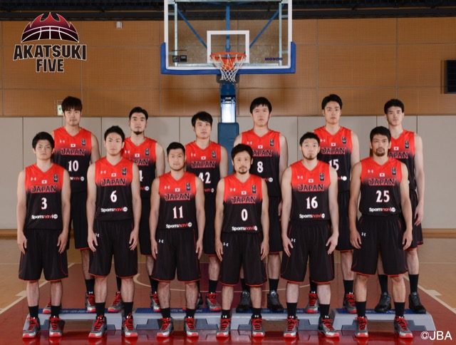 バスケットボール男子日本代表(AKATSUKI FIVE)の選手まとめ!オリンピック最終予選応援とBリーグ開幕に向けて主力選手をチェック!