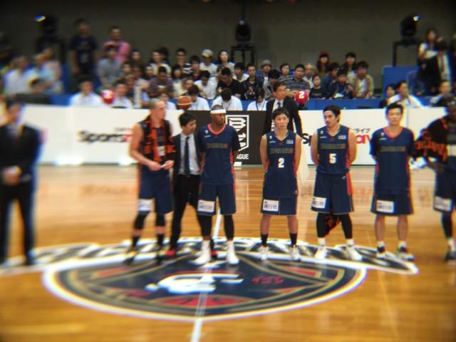 横浜ビーコルセアーズ(バスケットボール B1リーグ)の開幕試合 サンロッカーズ渋谷戦を応援してきました!2016年9月24日