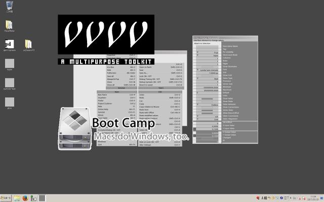 vvvvのパッチングを気軽で快適なものにするためにmacbookのBootcamp環境でやったマウスとキーボード操作の設定