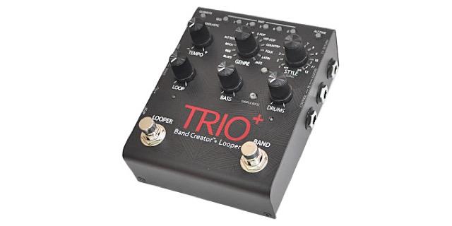 バンドのメンバー探しに困ったら!?おひとりさま専用エフェクター「DIGITECH TRIO+」と活動してはいかがですか?