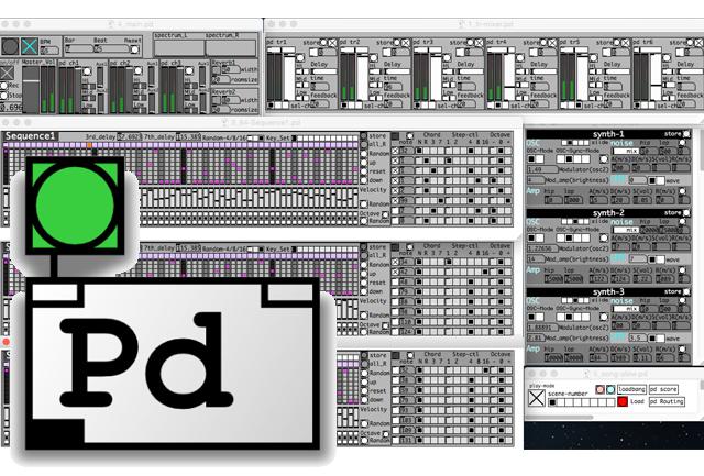 PureDataのライブ作曲用パッチの演奏練習を公開!2017年4月26日版