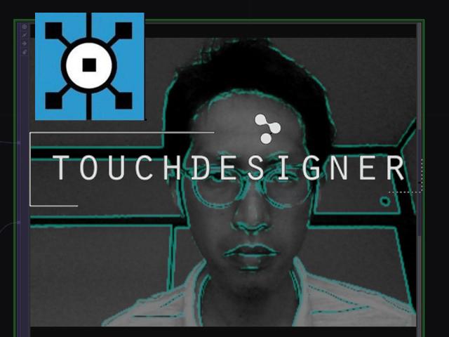 Touch Designer なら超簡単!動画の輪郭(エッジ)を抽出して色をつける方法
