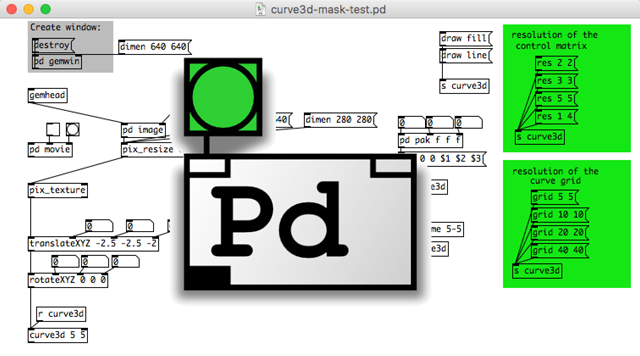 PureData+GEMでプロジェクションマッピングをするためのマスクを作る方法