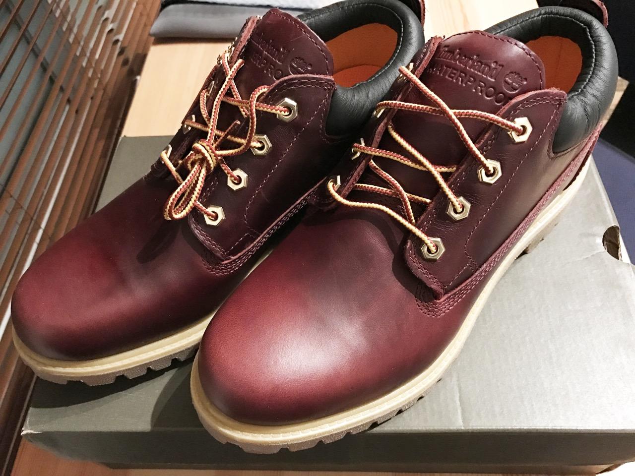 旅に最適な靴はローカットのワークブーツだ!ABCマート限定「ティンバーランド CLASSIC OX WP」を購入!
